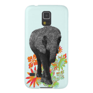 Cute Hippie Elephant Galaxy S5 Case