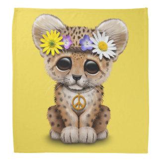 Cute Hippie Leopard Cub Bandana