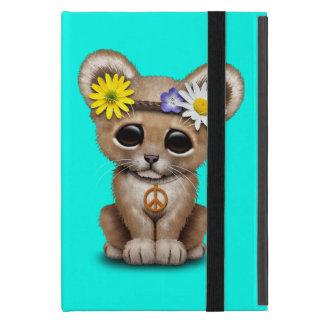 Cute Hippie Lion Cub iPad Mini Cover