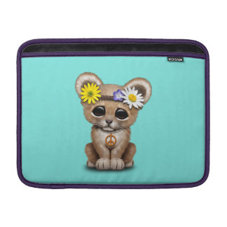 Cute Hippie Lion Cub Sleeve For MacBook Air