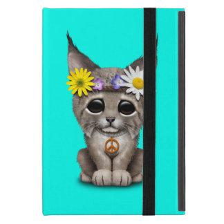 Cute Hippie Lynx Cub Case For iPad Mini