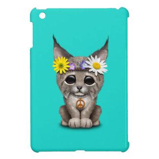 Cute Hippie Lynx Cub iPad Mini Cases