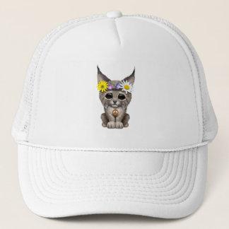 Cute Hippie Lynx Cub Trucker Hat