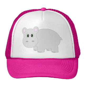 Cute Hippo Hat Cap