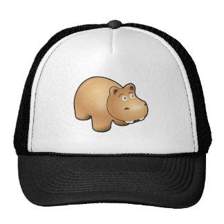 Cute Hippo Mesh Hat