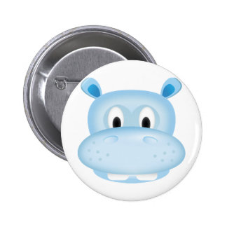 Cute Hippo Pin