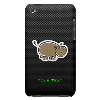 Cute Hippo; Sleek Barely There iPod Case