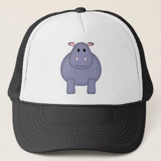 Cute Hippo Trucker Hat