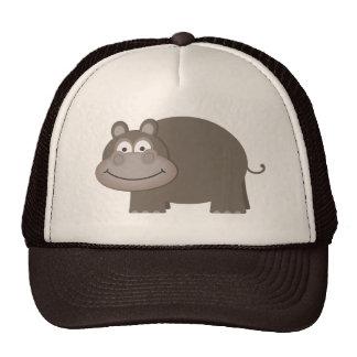 Cute Hippopotamus Cap