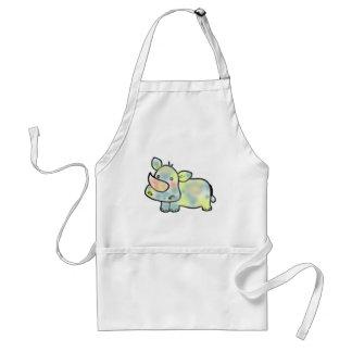 Cute hippopotamus standard apron