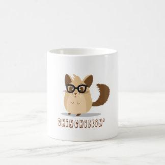Cute Hipster Chinchilla Mug