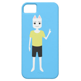 cute hipster dog person iphone 5 case