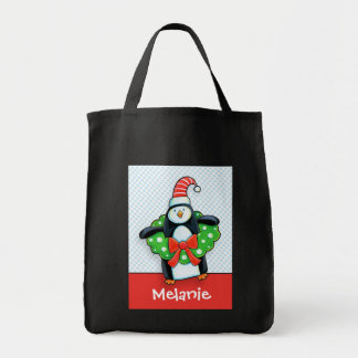 Cute Holiday Penguin Goodie Bag