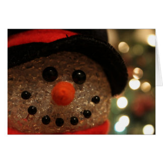Cute Holiday Snowman 1 Greeting Card