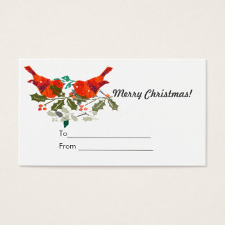Cute Holidy Gift Tag