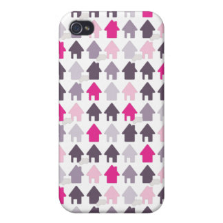 Cute home pattern iphone case iPhone 4/4S cases