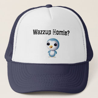 Cute Homie Penguin 2 Trucker Hat