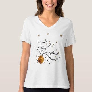 Cute Honey Bees, Bee Hive, Custom T-Shirt