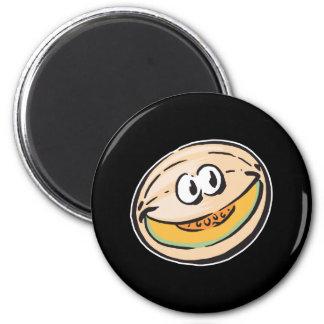 cute honeydew melon fridge magnets