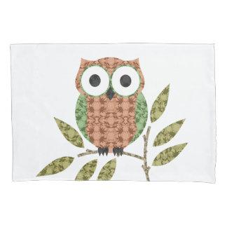Cute Hoot Owl Pillow Case
