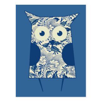 Cute hoot Vintage Owl Postcard