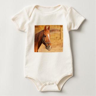 CUTE HORSE BABY BODYSUIT