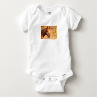 CUTE HORSE BABY ONESIE