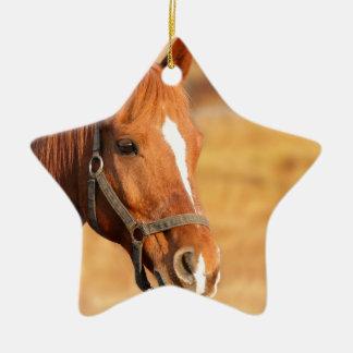 CUTE HORSE CERAMIC ORNAMENT