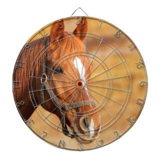 CUTE HORSE DARTBOARD WITH DARTS