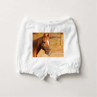 CUTE HORSE NAPPY COVER