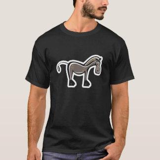 Cute Horse; Sleek T-Shirt