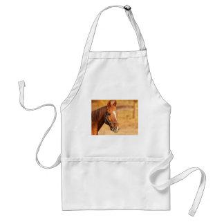 CUTE HORSE STANDARD APRON