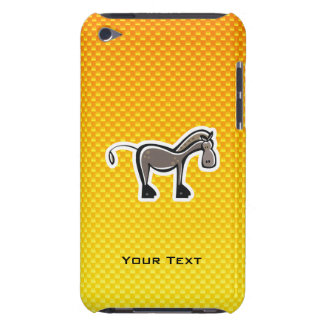 Cute Horse; Yellow Orange iPod Touch Cover
