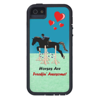Cute Horses Are Freakin Awesome iPhone 5 Case