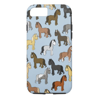 Cute horses iPhone 8/7 case