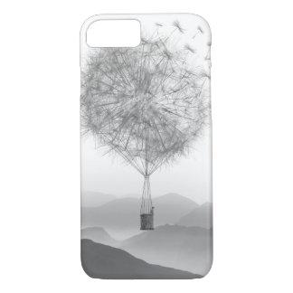 Cute Hot Air Balloon Dandelion Seeds Blowing iPhone 8/7 Case