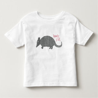 Cute Howdy Armadillo Texas T-Shirt