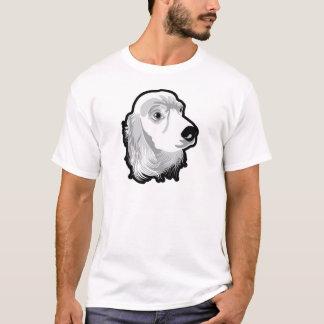 Cute Huge Dog Head by Kong T-Shirt