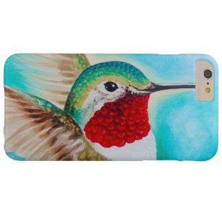 Cute Hummingbird Barely There iPhone 6 Plus Case