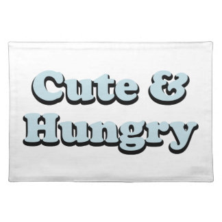 Cute & Hungry Placemat
