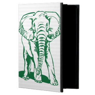 Cute Hunter Green Elephant Line Drawing Powis iPad Air 2 Case