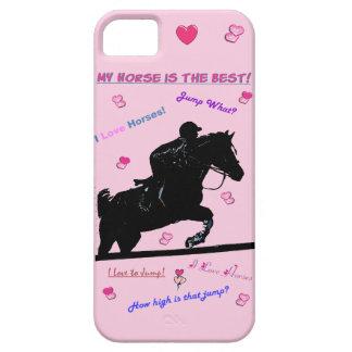 Cute Hunter Jumper Horse Doodles Case-Mate Case