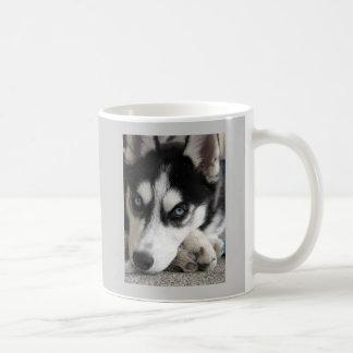 Cute husky mug