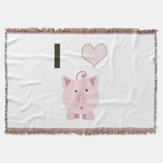 Cute I heart pigs Desgin