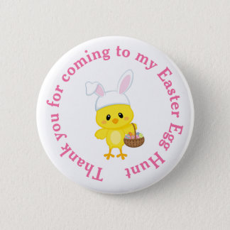 Cute 'I Joined an Easter Easter Egg Hunt' 6 Cm Round Badge