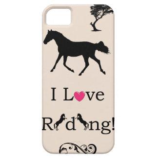 Cute I Love Riding! Equestrian iPhone 5 Case