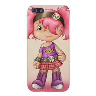 Cute i With Little Punk Girl - Teenage iPhone 5/5S Cover