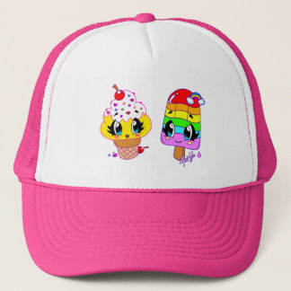 Cute Ice Cream / Ice Pop BFFs Hat