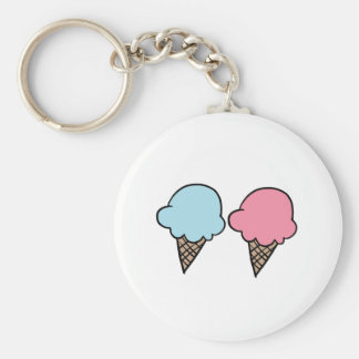 Cute Ice Cream shirts, accessories, gifts Key Ring