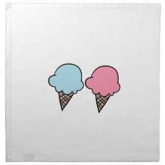 Cute Ice Cream shirts, accessories, gifts Napkin
